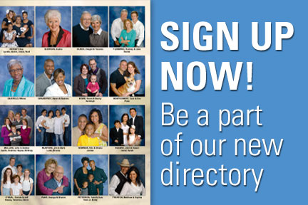 Sign up now. Be a part of our directory!